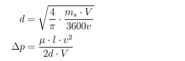 Calculatrice Dimensionnement De Tuyauterie Pour Event De