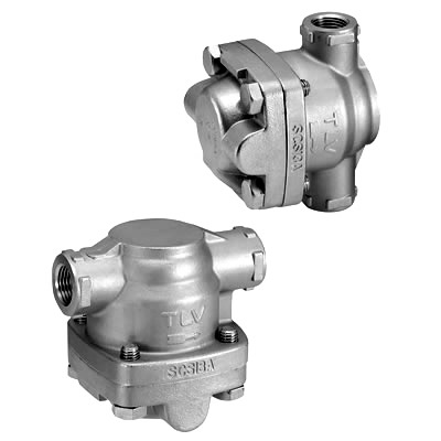SS1 Free Float® steam trap features a unique, three-point seating to ensure a perfect steam-tight seal, even under low condensate load conditions experienced in superheated steam lines.