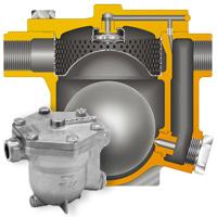 TLV新发布的自由浮球式疏水阀:J6S-X