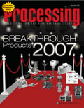 Processing magazine front cover