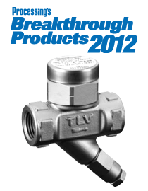 TLV Disc Trap Selected as Breakthrough Product 2012