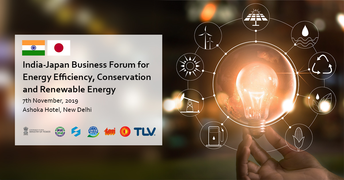 TLV to participate in India-Japan Business Forum for Energy Efficiency, Conservation and Renewable Energy