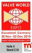 Valve World Expo Stand Logo