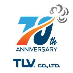 TLV 70th anniversary logo, designed by Ariff Rahman of TLV Malaysia
