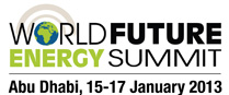 World Future Energy Summit 2013 Starts Today