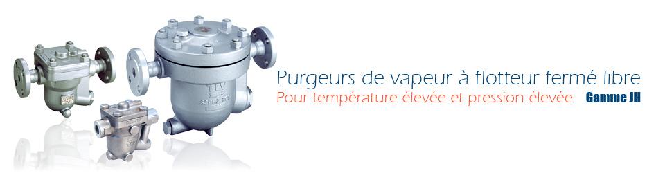 Purgeurs de vapeur à flotteur fermé libre pour température élevée et pression élevée