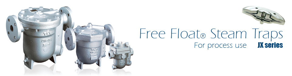 Free Float® Steam Traps for Process Use