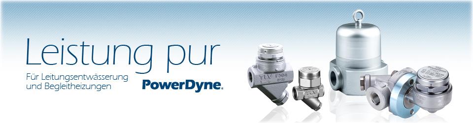 PowerDyne® Thermodynamische Kondensatableiter