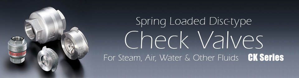 Spring Loaded Disc-type Check Valves