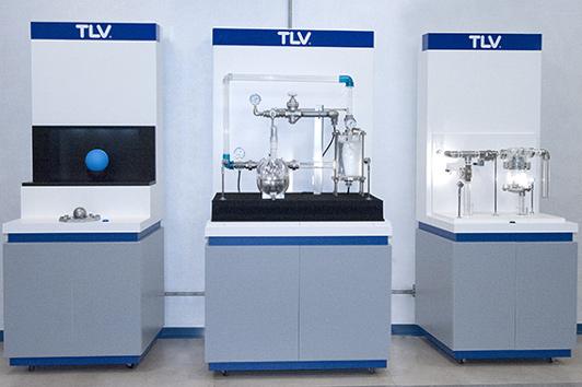 Installations du showroom TLV France