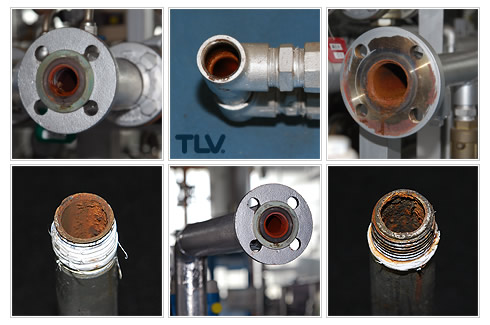 Examples of Corroded Pipes