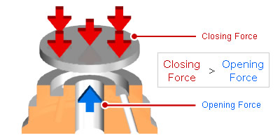 Forces Acting on Disc Valve