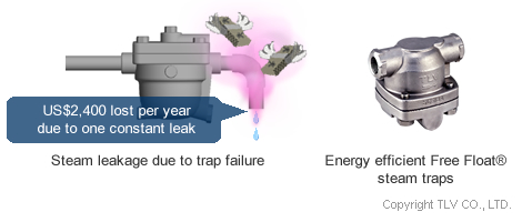 Leakage due to trap failure
