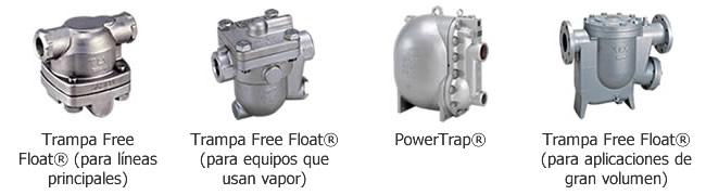 Trampas de vapor mecánicas