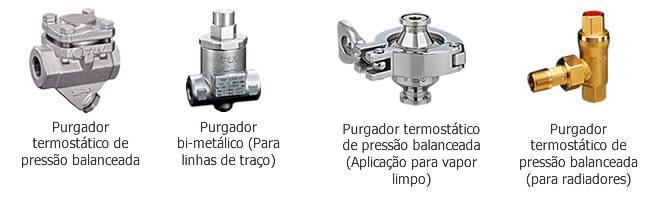Purgadores termostáticos para vapor