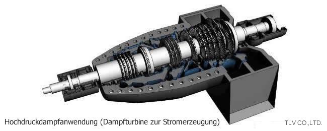 Anwendungsbeispiele für Thermodynamische Kondensatableiter mit Ventilteller