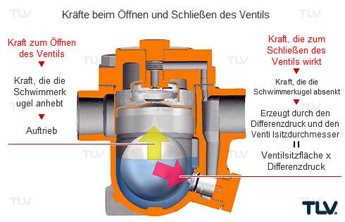 Schwimmer-Kondensatableiter und Ventilsitzgröße (Teil 2)