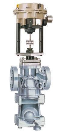 Válvula de Controle Eletro-Pneumático CV-COS