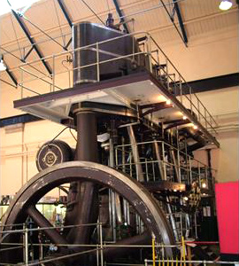 Marshall — Lilleshall steam engine