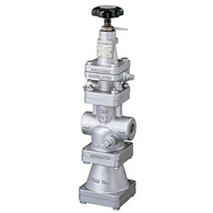 Compact Pressure Reducing Valves For Steam With Built In