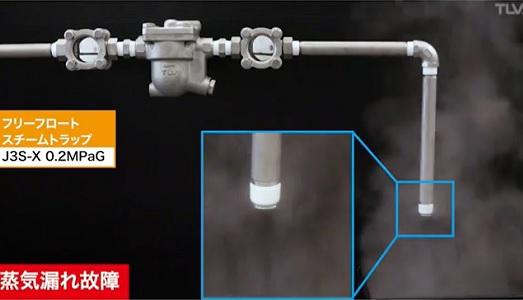 蒸気漏れとフラッシュ蒸気の見分け方